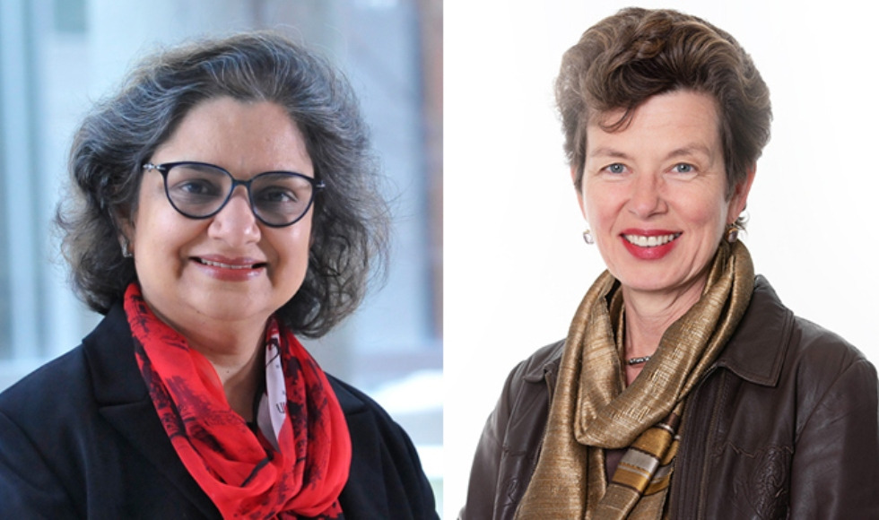 Professors Charu Kaushic and Deborah Cook